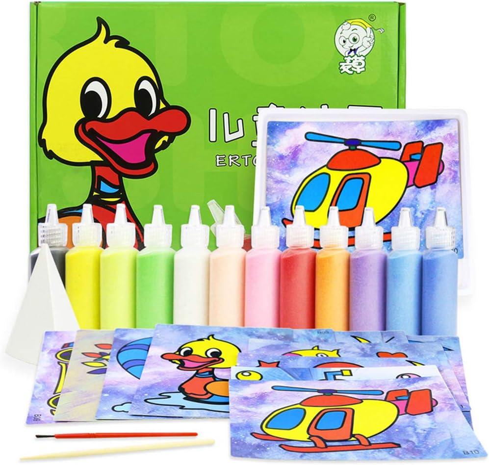 BlingGlow 1 Set Children Handmade Painting Max 63% OFF Max 78% OFF Sand Kindergarten