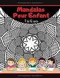 Mandalas pour Enfant 7-12 Ans: Livre de coloriage anti-stress pour Fille et Garçon - 50 Mandalas à Colorier - Idéal pour les Vacances - 21,6 x 27,9 cm/A4