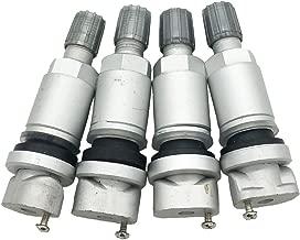 4pcs TPMS Tire Pressure Sensor Valve Stem Repair Kit For Peugeot Dodge LandRover
