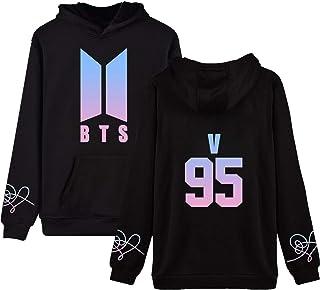 babyHealthy BTS Love Yourself Hoodie Suga V Jung Kook Jimin World Tour Sweatshirt Pullover