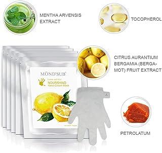 5 pares de guantes hidratantes Máscaras naturales y orgá