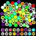 72-Pieces MGparty Halloween Theme Designs Bouncing Balls