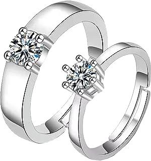 خواتم زوجين لوعدها خواتم له قمر الشمس زوجين خواتم الوعد للأزواج