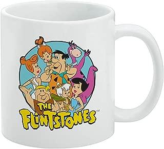 The Flintstones Group White Mug