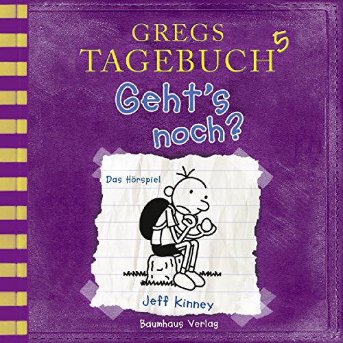 Geht's noch?     Gregs Tagebuch 5              By:                                                                                                                                 Jeff Kinney                               Narrated by:                                                                                                                                 Marco Eßer                      Length: 1 hr and 15 mins     Not rated yet     Overall 0.0
