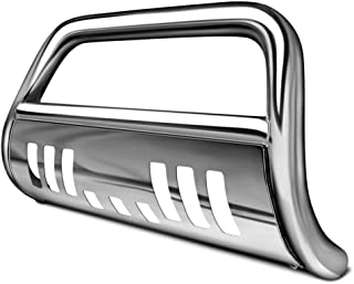 R&L Racing Chrome Bull Bar Brush Push Bumper Grill Grille Guard for 05+ Frontier/Pathfinder