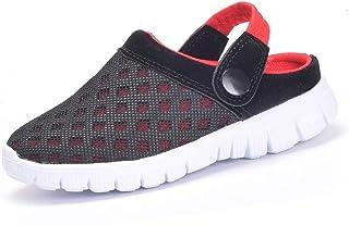 Zuecos Unisex Niños,Sandalias para Niñas,Zapatillas de Playa Antideslizante Zapatos de Verano EU 24-39