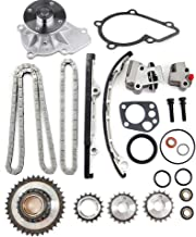 ROADFAR Timing Chain Parts fits for 2001 2002 2003 2004 Nissan Xterra 2.4L 2389CC l4 Gas DOHC Naturally Aspirated