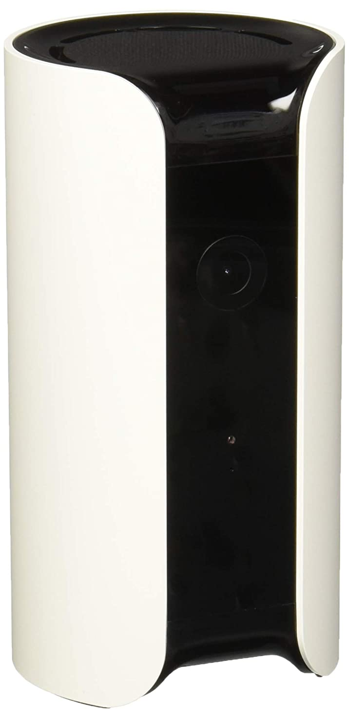 Canary All-in-One Indoor 1080p HD Security Camera with Built-in Siren and Climate Monitor, Motion/Person/Air Quality Alerts, Works with Alexa, Insurance Eligible - White