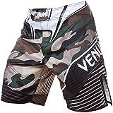 VENUM Camo Hero Pantalones Cortos de Entrenamiento, Hombre, Verde/marrón, L
