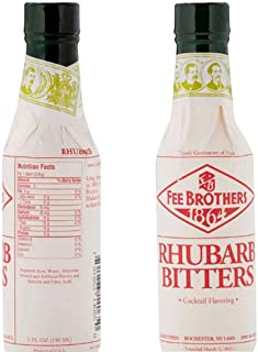 Fee Brothers Rhubarb Cocktail Bitters - 5 oz
