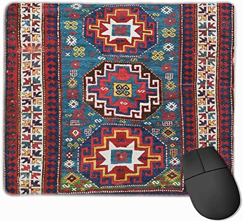 Kazak Tapijt Gaming Mouse Pad Antislip Rubber Mousepad voor Computers Desktops laptop Muis Mat 9.8