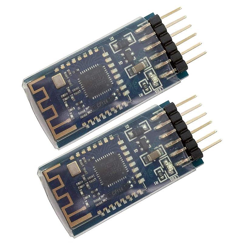 レポートを書く煩わしい空気sunhokey 2pcs jdy-08下部プレートBLE Bluetooth 4.0?UARTトランシーバーモジュールcc2541中央スイッチングワイヤレスモジュールサポートiBeacon