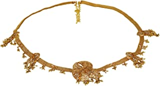 Vama Fashions Gold Plated Belly Chain Traditional Kamarband for Women Wedding Jewellery for Bridal.