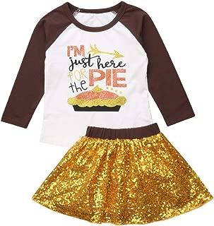 Toddler Kids Girl Denim Skirt Set with Rose Flower Letter Print T-Shirt Tops 2pcs Outfits sweetyhouse