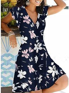 Casual Polka Dot Dress Women V Neck Sleeveless Bandage Beach Dress Summer Bohemian Dresses For Women