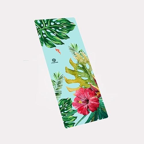 HCJYJD Tapis de Yoga, Caoutchouc Naturel Tapis antidérapant Spécialité Tapis de Fitness antidérapant Allonger Widen Tapis d'exercices Pliable (Couleur    17, Taille   4mm)