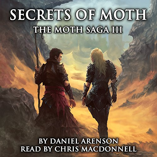 Secrets of Moth     The Moth Saga, Book 3              By:                                                                                                                                 Daniel Arenson                               Narrated by:                                                                                                                                 Chris MacDonnell                      Length: 10 hrs and 35 mins     Not rated yet     Overall 0.0