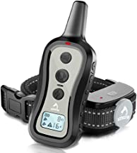 PATPET Dog Training Collar- Dog Shock Collar with Remote, w/3 Training Modes, Beep,..