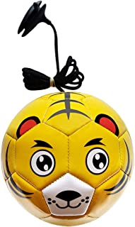 HnjPama Kids Sports Outdoor Tetherball with 4.9' Rope and No.2 (Diameter 5.9