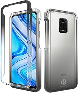 Remson Colorful Gradient Dual Layer Shockproof Back Case Cover for Xiaomi Redmi Note 9s, Note 9 Pro and Note 9 Pro Max Pro...