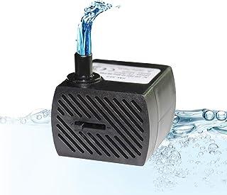 comprar comparacion Homvik Mini Bomba de Agua Sumergible 350L/H 5W Bomba Agua Ultra Silencioso para Acuario Estanque Pecera y Fuente de Agua M...