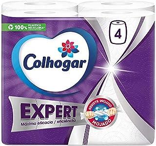 Colhogar Papel Cocina Expert Rollos, Blanco, 4 Unidad