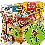 Geschenkbox Kekse / Ostbox / Sternzeichen Stier / Geschenkidee Freundin Stier