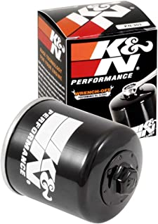 K&N Motorcycle Oil Filter: High Performance, Premium, Designed to be used with Synthetic or Conventional Oils: Fits Select Honda, Kawasaki, Polaris, Yamaha Vehicles, KN-303