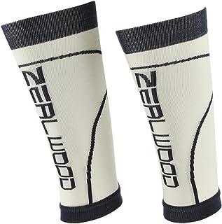 Unisex Compression Calf Sleeves,ZEALWOOD Best Footless Socks for Shin Splints & Leg Cramps, Runners Calves Circulation Remedy, Support Stockings, Running Gear, Basketball Lycra Tights