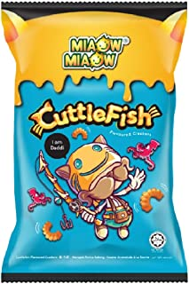 Miaow Miaow Crackers 60g x 6 Packs (628MART) (Cuttlefish Flavoured)