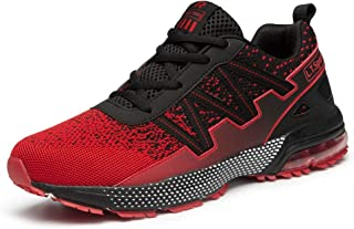 Men's Casual Non-Slip Fitness Sneakers Lightweight Breathable Sports Running Walking Shoes