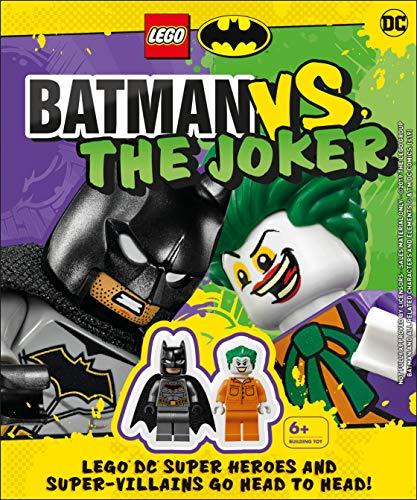 LEGO Batman Batman Vs. The Joker: with two LEGO minifigures!