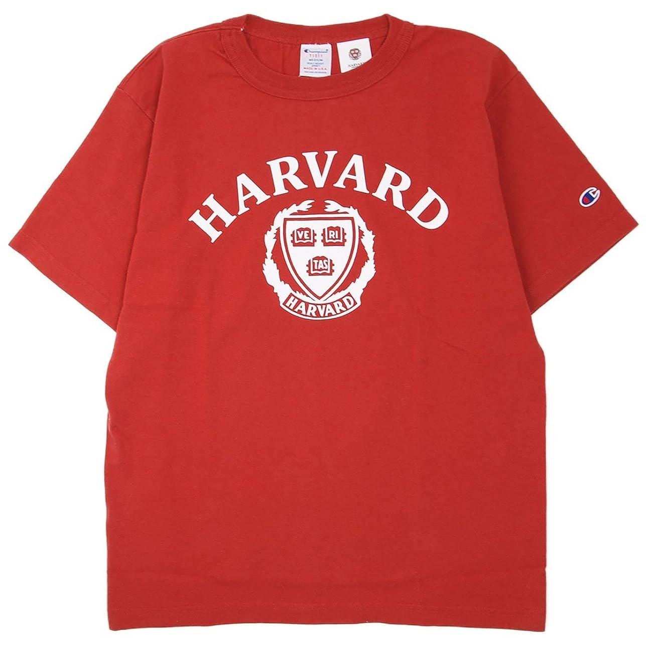 ホイッスル教類似性(チャンピオン) Champion Made in USA × ハーバード大学 T1011 US Tシャツ 米国製 国内正規品 マルーン C5-M302-970