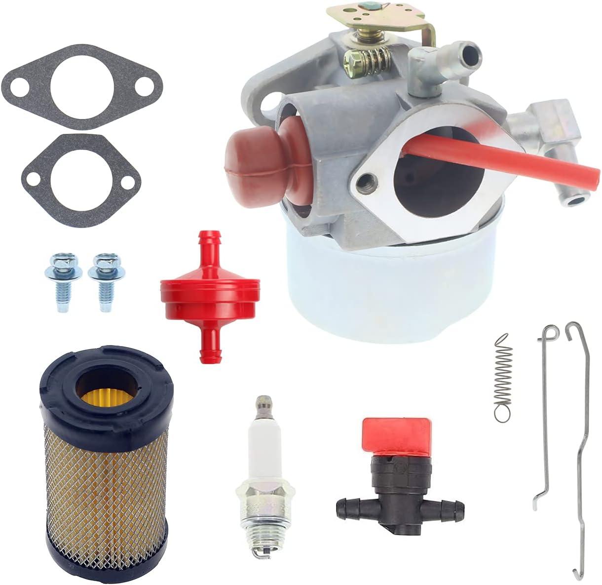 Cnfaner 640339 Carburetor + 35066 Air Tampa Mall Sale Tecumseh Filter for LEV90