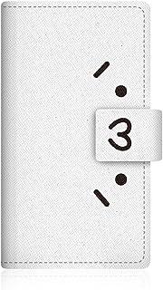 CaseMarket Amazon.co.jp 【手帳式】 SHOBON x CaseMarket PANTONE 6 (200SH) スリム ケース [ ショボーン (´・ω・`) × ナエ-(´Д`) 手帳 ]  200SH-VSB2D2014