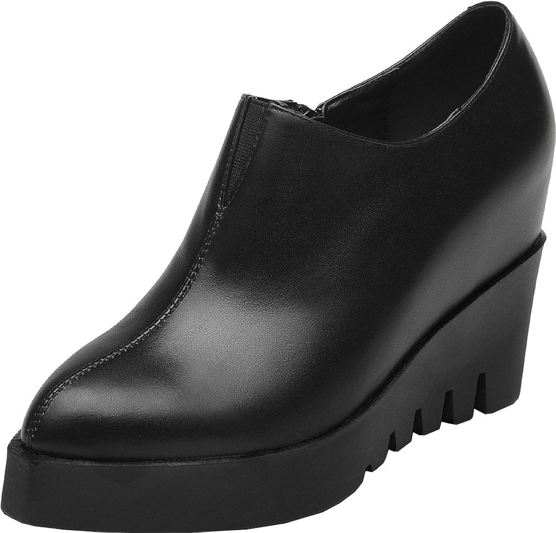 C&C Women's Heightening Leather Boots