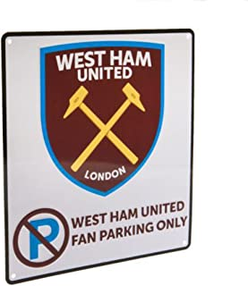 West Ham United F.c. No Parking Sign Official Merchandise
