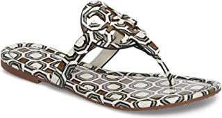 0ab836ba7 Tory Burch Miller Patent Leather Sandal (New Ivory Octagon Square)
