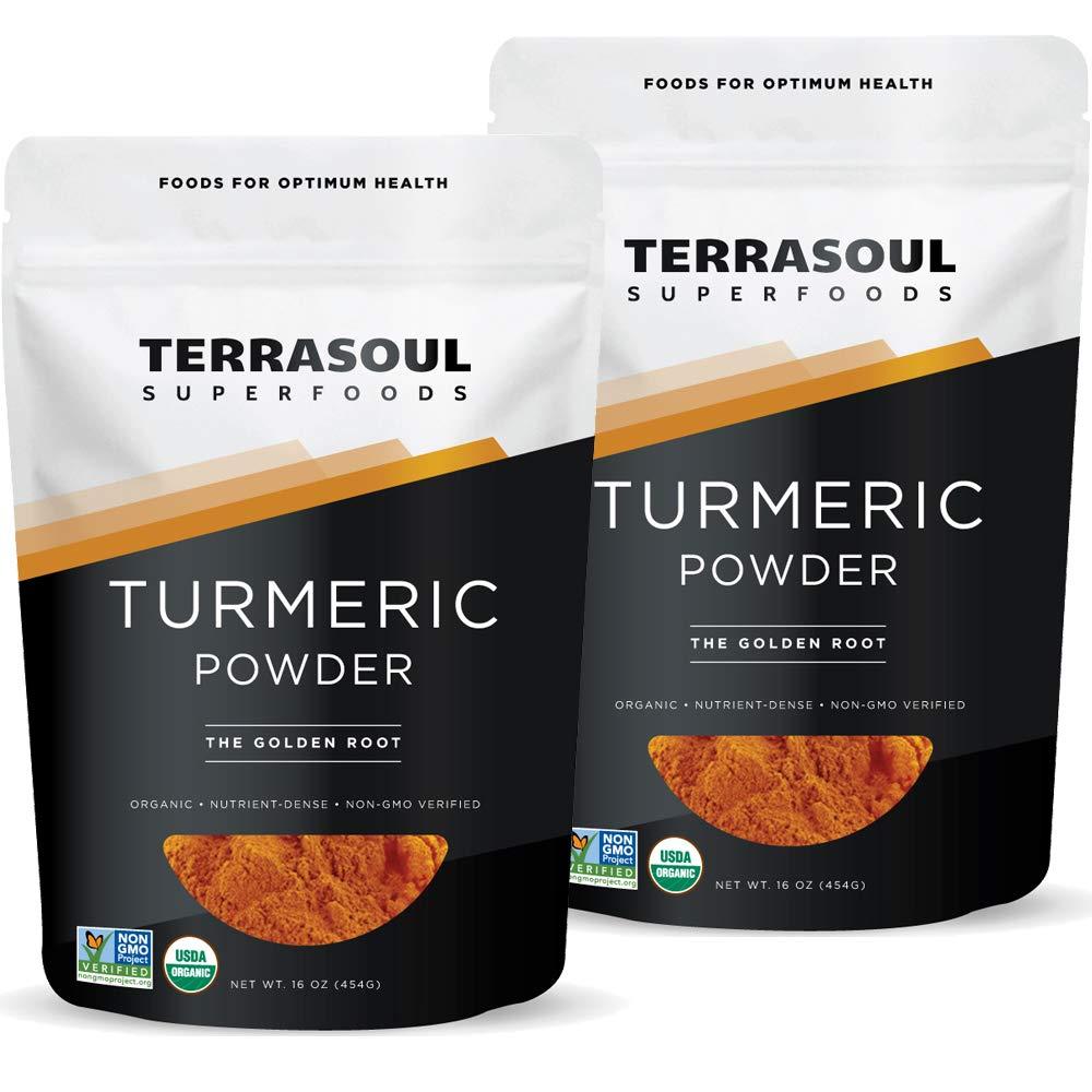 Terrasoul Max 50% OFF Superfoods Organic Turmeric Powder - Many popular brands Lbs 2 Pack C