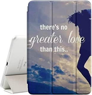Graphic4You Cross Christian Jesus Ultra Slim Case Smart Cover Stand [with Sleep / Wake Function] for Apple iPad Pro (12.9