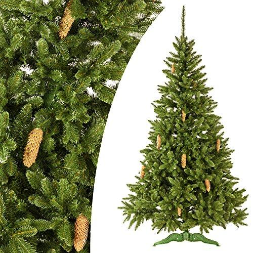 Tannenbaum mit Zapfen, 270 cm