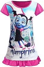 AOVCLKID Vampirina Toddler Night Gown For Little Girls Pajamas Dress
