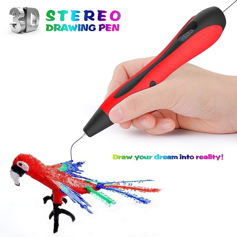increíbles descuentos XBECO Juego de lápices de impresión 3D Creación Creación Creación de projootipos rápidos Impresión de la Impresora Dibujo de Doodler 18 Colors Recargas PLA Material Impreso Arte Artesanía Aficionados,rojo  ¡no ser extrañado!