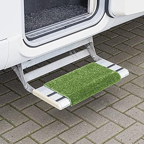 MULTIBROS Tapis de sol pour camping-car - Tapis de qualité supérieure - Clean Step - Pour caravane - Vert