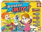 Educa- Adivina Que Imito Juego de Mesa Familiar de mímica, a Partir de 6 años, Color Variado (16987)