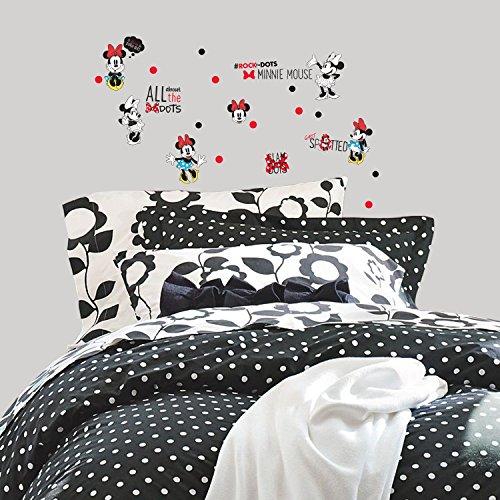 Stickers Repositionnables Disney Minnie Mouse et Pois