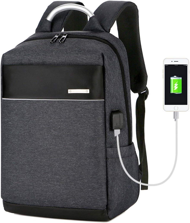 KERVINFENDRIYUN YY4 Männer USB-Lade 15,6-Zoll-PC Rucksack, Bergsteigen Taschen, Taschen, Taschen, Erdbeben Widerstand Business Freizeit (Farbe   schwarz 1) B07MXD74VD  Neues Design ca3a23
