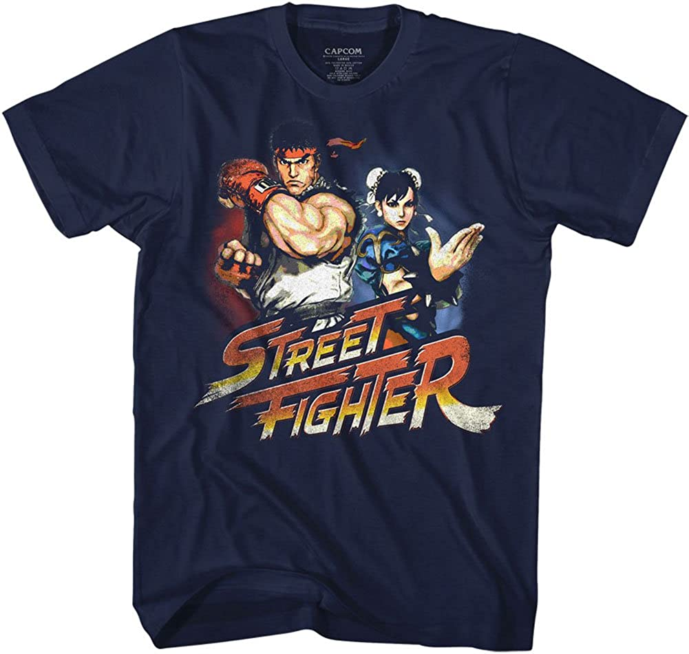 American Classics Street Fighter List price Ryuchunli Bargain T- Sleeve Adult Short