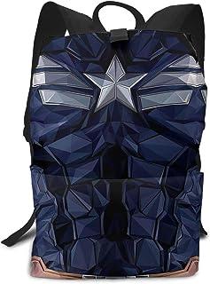 Mochila ligera para adulto (bolsa de hombro, diseño de Capitán América)